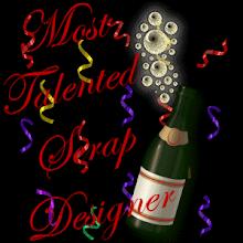 Master Talented Scrap Designer Award