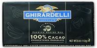 ghirardelli 100 percent cacao