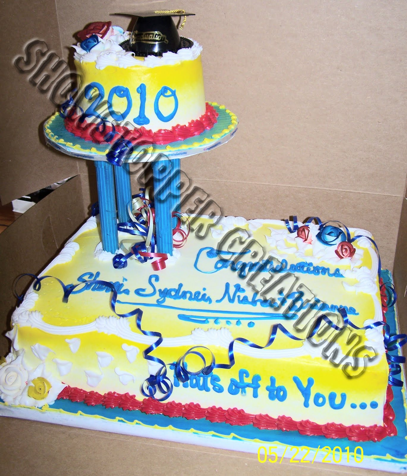 Baby Shower Cakes In Metairie La