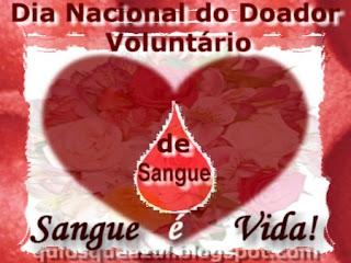 Dia Nacional do Doador Voluntário de Sangue - 25 de Novembro