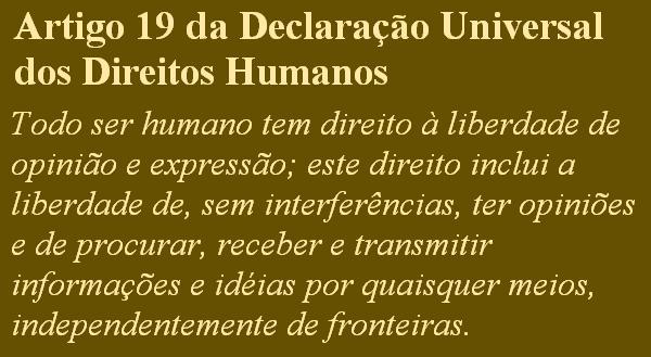 Artigo 19-DUDH