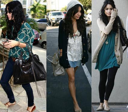 vanessa hudgens casual look. Vanessa Hudgens Outfits 2009.