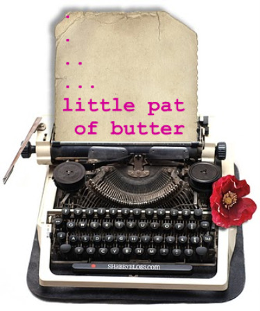 little pat of butter
