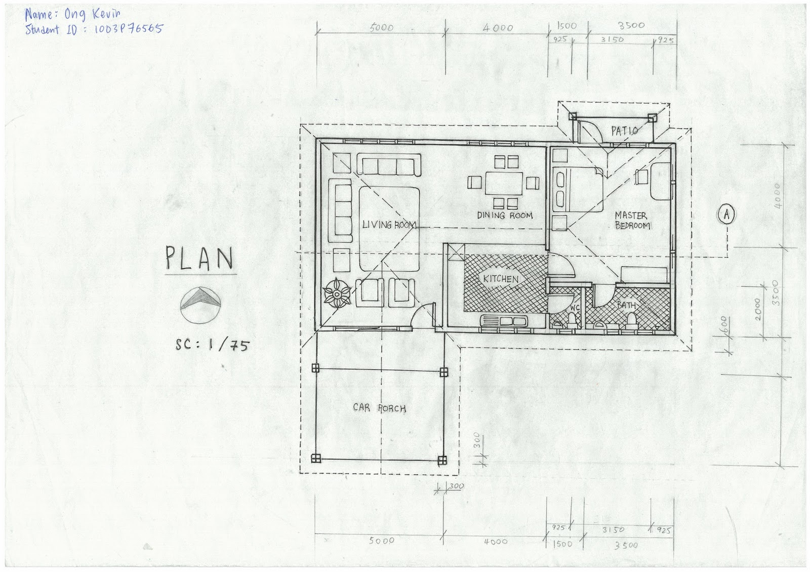 Elevation Plan Scale : Scale drawing plan elevation i m ong kevin
