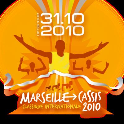 Affiche Marseille Cassis 2010