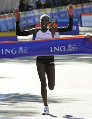 Marathon de New York 2010 Kiplgat vainqueur