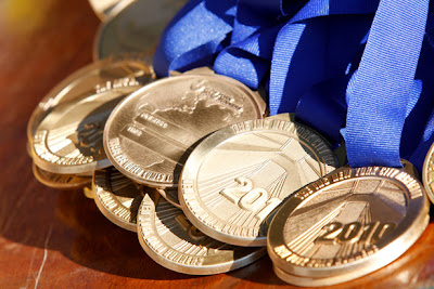 Medailles du marathon de New York 2010
