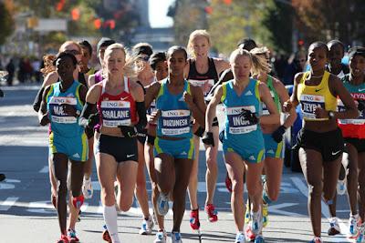 le groupe pro femme marathon de new york 2010