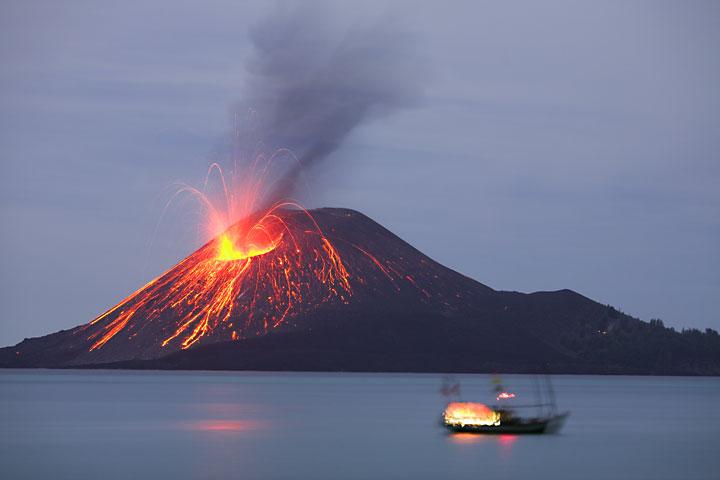 Status Gunung Berapi di Indonesia Delapan Gunung Berapi di