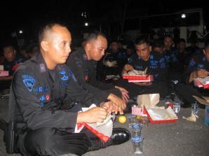 Brimob Kembali ke Jakarta, Tinggalkan Tarakan - Kaltim Borneo