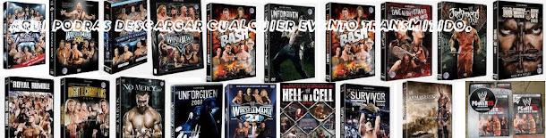 DєscαяgAs dع DVDs y PPVs WWع