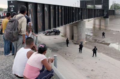 Avanza muro México-Estados Unidos