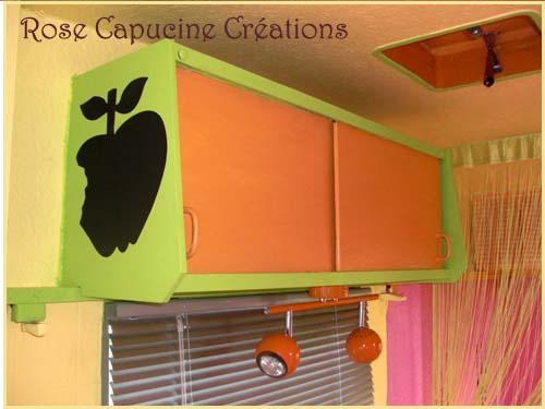 rose capucine caravane relook e une petite beaut avant. Black Bedroom Furniture Sets. Home Design Ideas