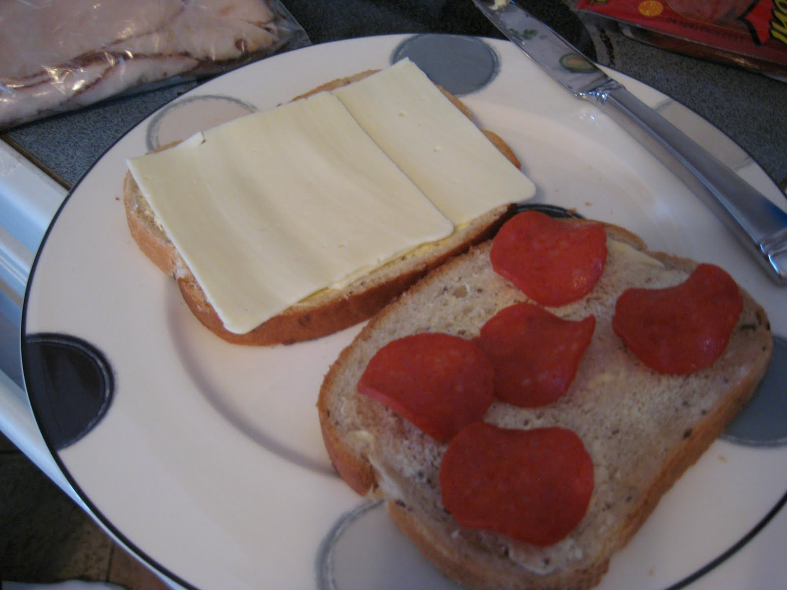 Eating With A: Sunday Game Day SANDWICH! Turkey & Pepperoni Panini's!