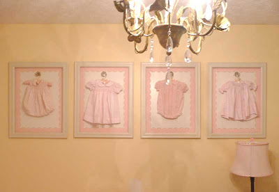 Baby Clothing Wall  on Boy Source Sweet Vintage Baby Clothes Make Great Wall Hangings