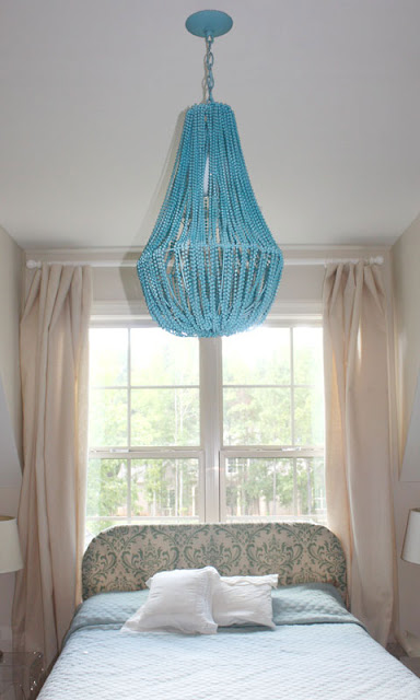 Beaded Chandelier From Planter Diy Light Home Stories A To Z