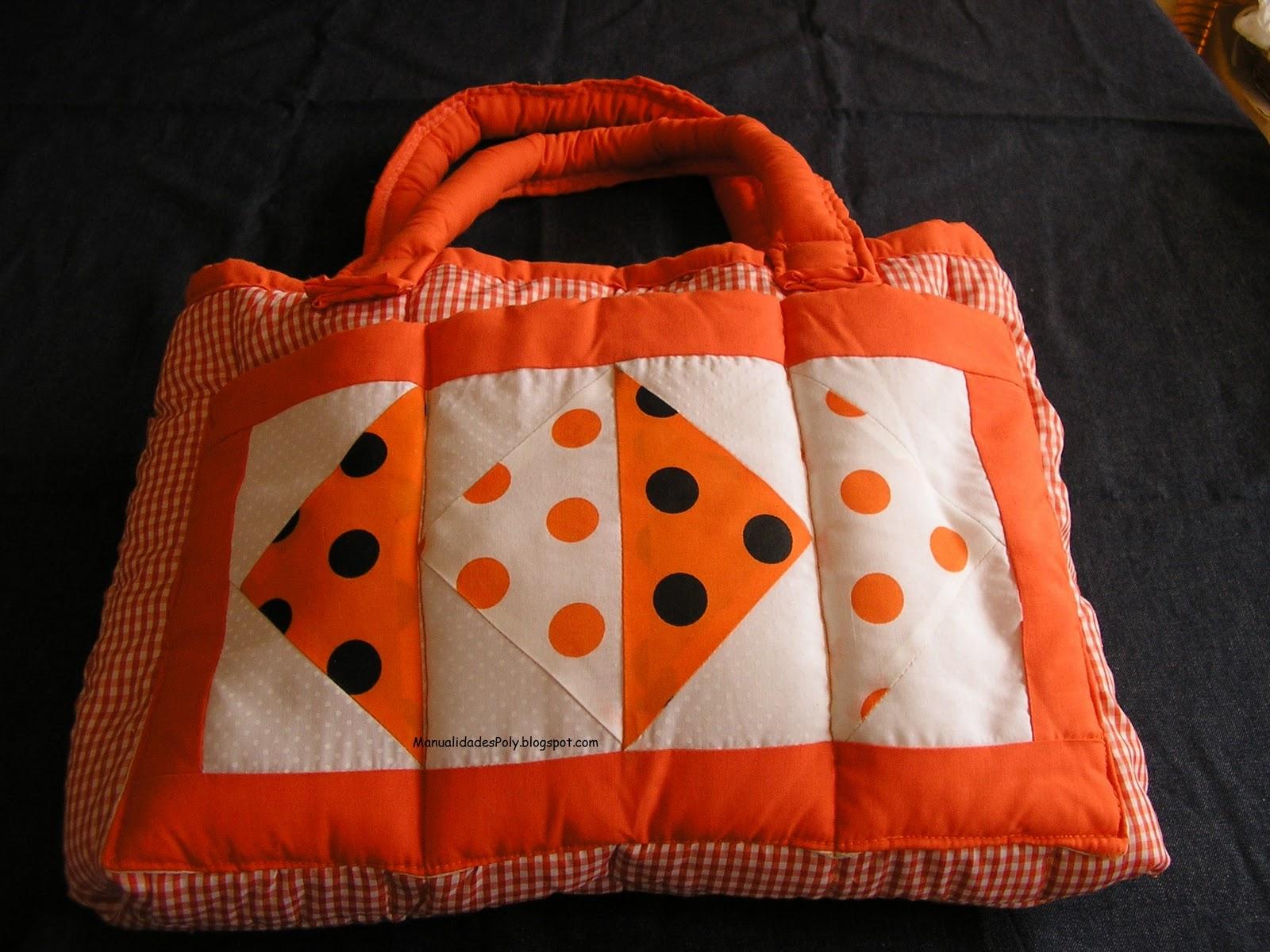 Manualidades poly bolso patchwork - Manualidades patchwork bolsos ...