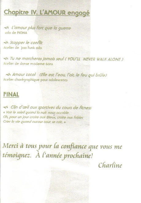 spectacle (mai 2006)