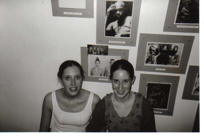 ALINE & moi dans les couloirs de l'A.B. Bxl)