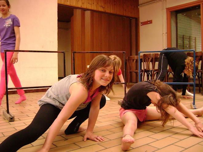 Marie - échauffement - danse ado