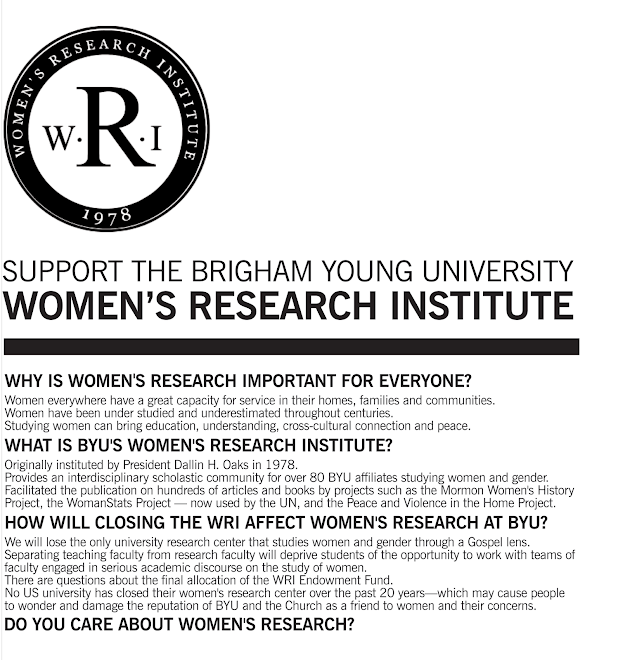 Support the Women's Research Institute