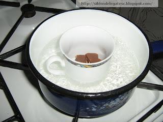 ciocolata banane prajite