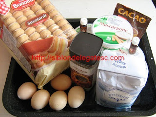 ingrediente tiramisu
