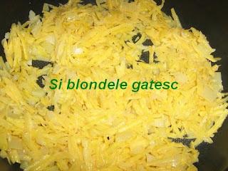 cartofi pentru omleta