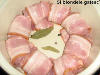 pui cu bacon