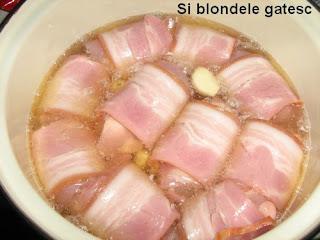 pui cu bacon si bere