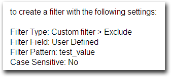 英文的 Filter Patterm: test_value