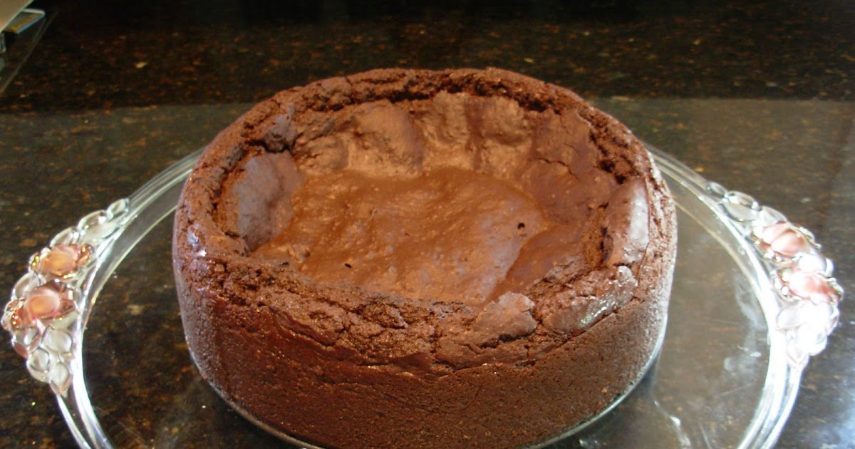 Blackbean Flourless Chocaloate Cake One Pan