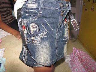 Selektiflah Saat Memilih Rok Jeans Anak Branded
