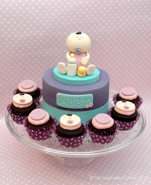 the cupcake gallery blog  welcome to the world  baby abby
