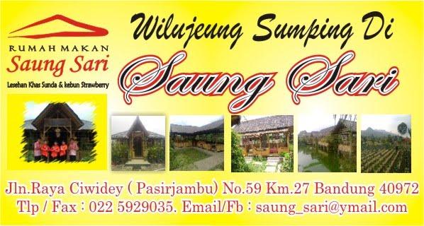 welcome to saung sari resto & farm strawberry