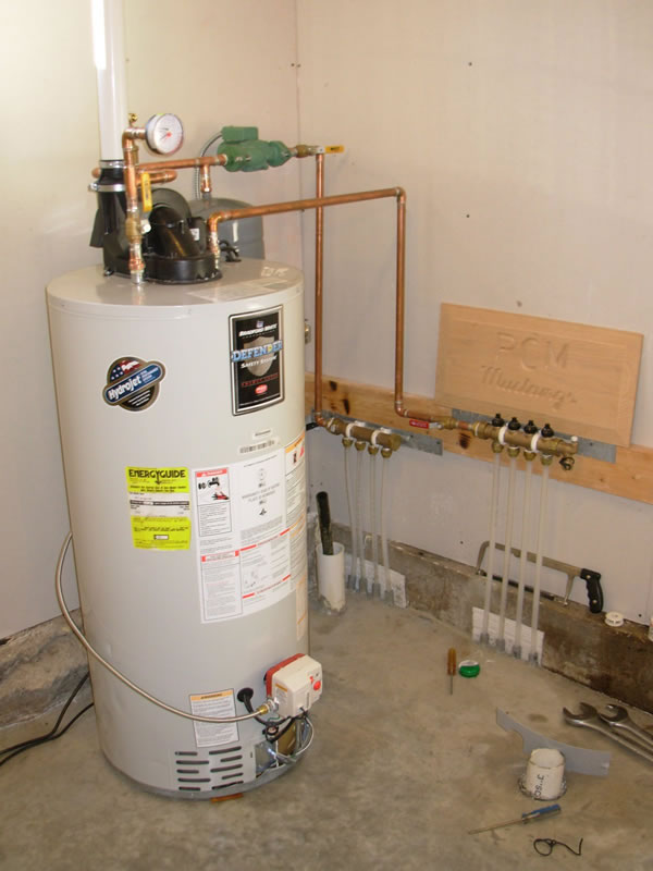 Water heater and boiler water free engine image for user for Most economical heating system