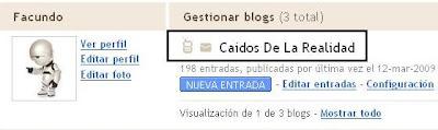 Nueva Funcionalidad de Blogger