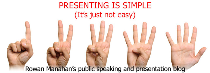 PRESENTING IS SIMPLE (It's just not easy)