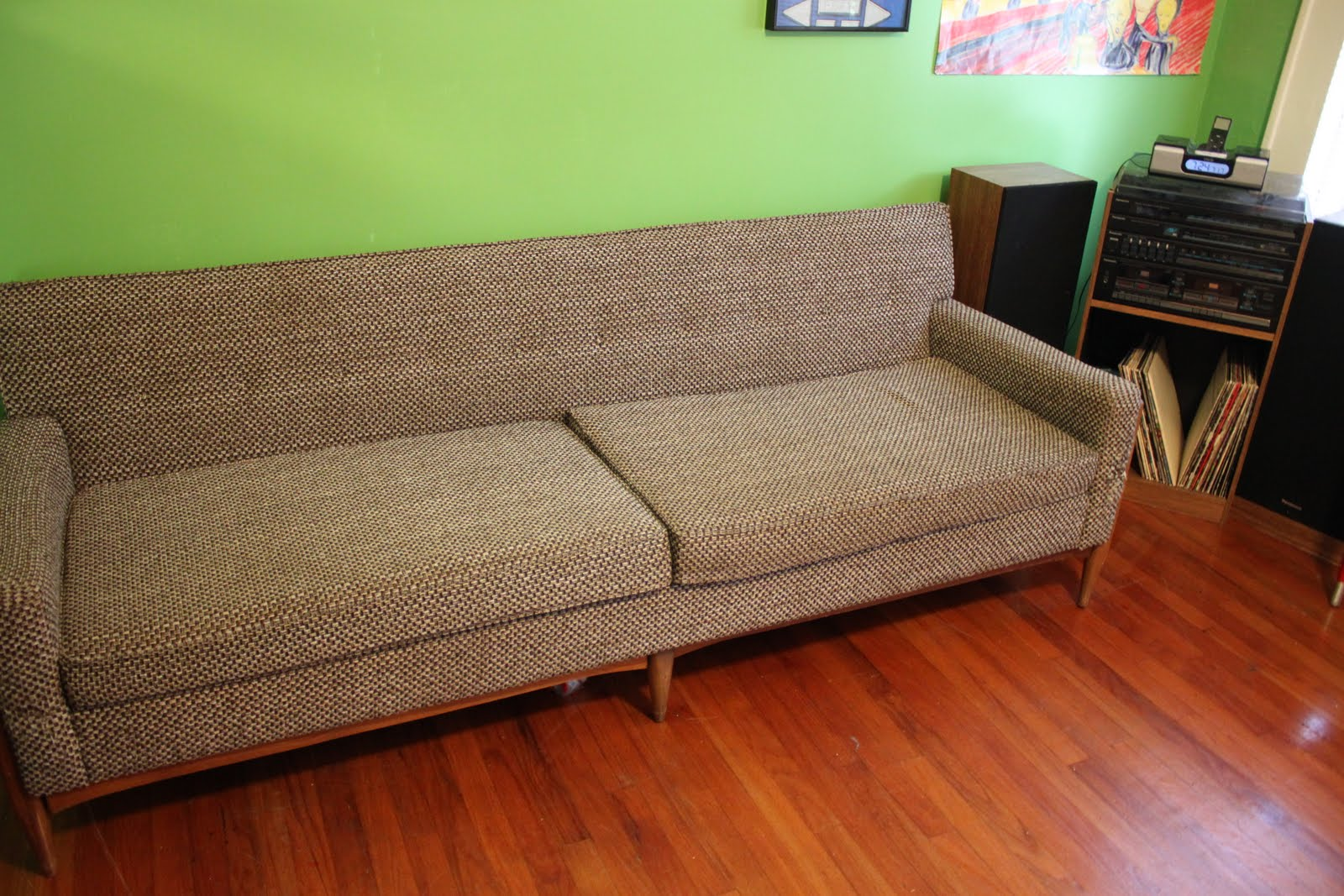 My First Scandinavian Mid Century Modern Couch