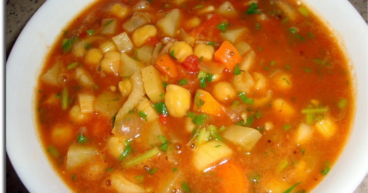 Ami's Vegetarian Delicacies: Cinnamon-spiced Chickpea and ...