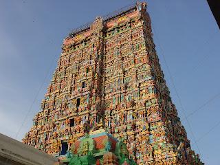 Madurai temple,Meenakshi Amman temple,Meenakshi Amman temple Towers,inner left view of towers