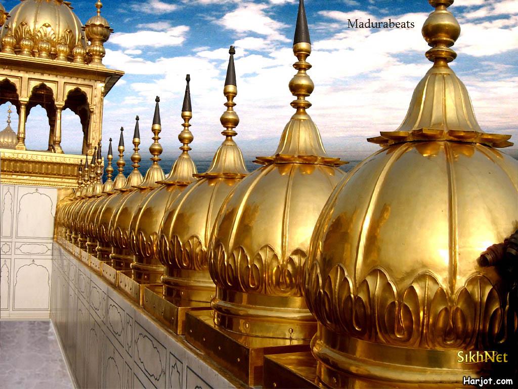 Amritsar Golden Temple exterior