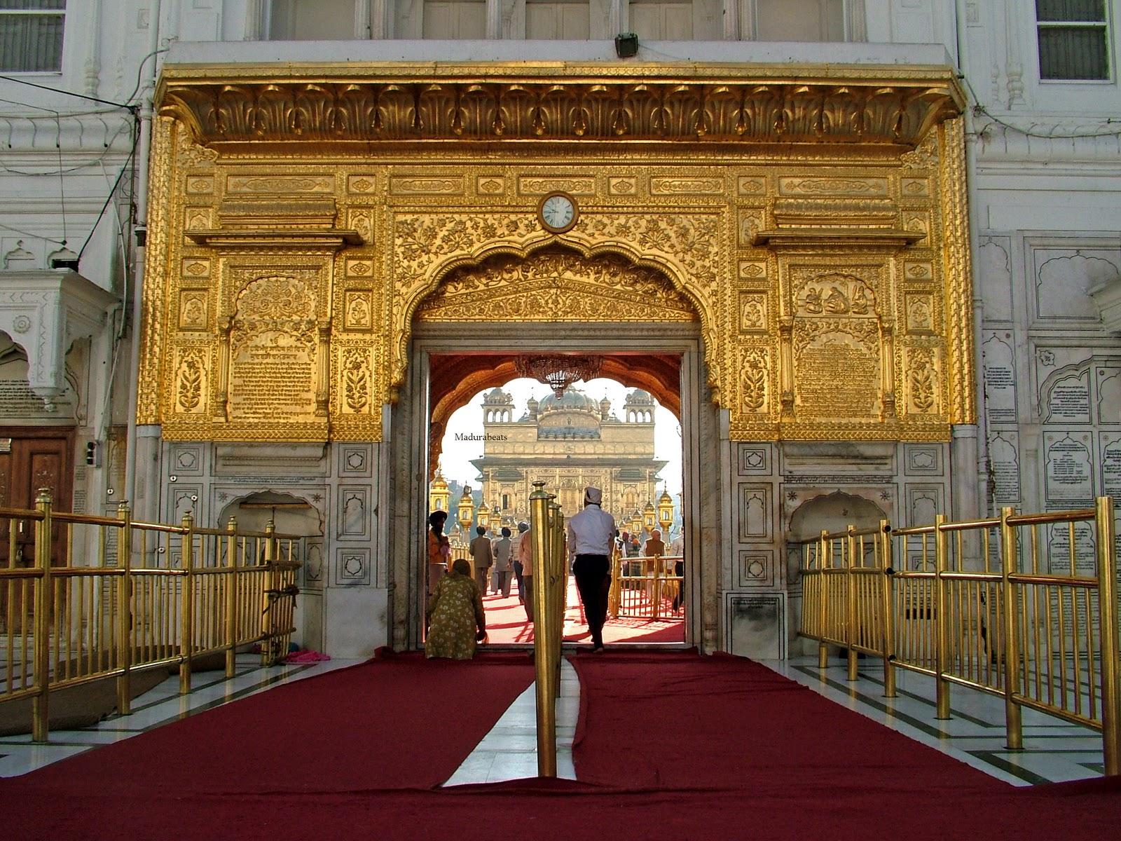 Amritsar Golden Temple entrance