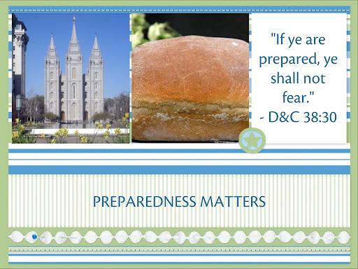 PREPAREDNESS MATTERS