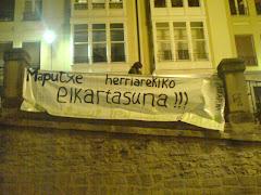Protesta Mapuche en Vitoria