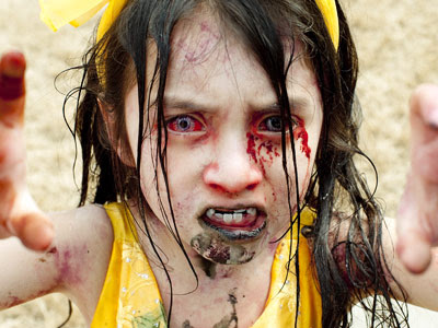 Little Girl in Zombieland