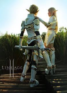 Elfo oscuro femenino lineage2 elfo sexy