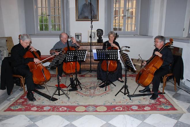 Magnifique Concert avec quatre violoncelles.