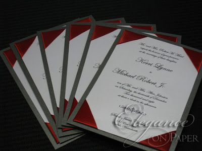 Elegance on paper blog kerri amp michael s winter wedding invitations
