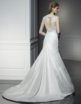 White Wedding Gown 1001
